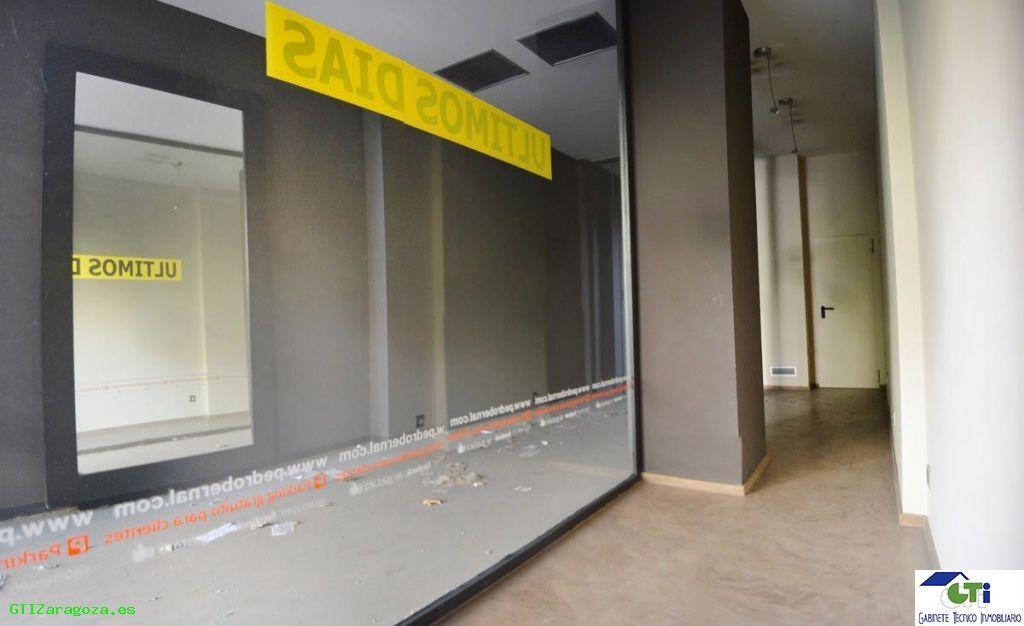 Alquiler de Local en Zaragoza Capital,