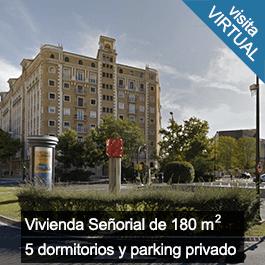 Vivienda Señorial de 180 m con 5 dormitorios y parking privado